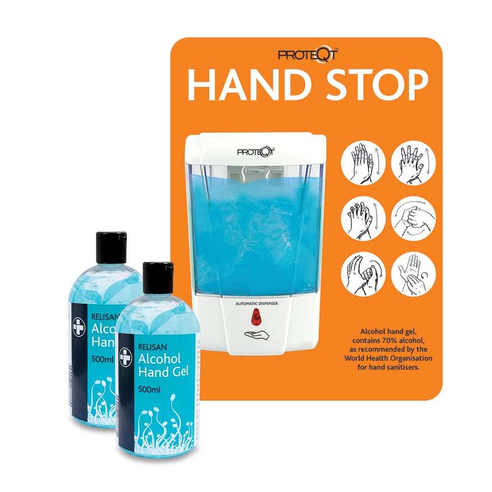 Proteqt First Aid Healthcare Reliance Medical PPE Hand Sanitiser